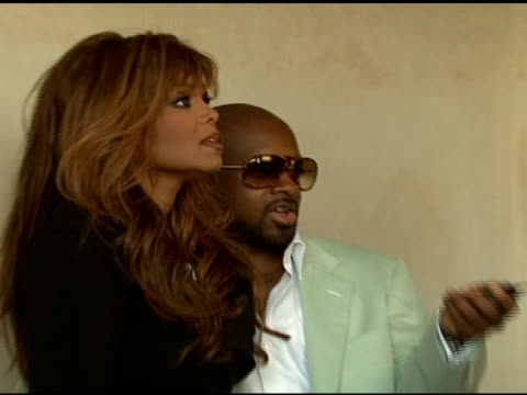 janet jackson and jermaine dupri at the cartier hosts the third annual loveday celebration at los angeles california - janet jackson stock videos & royalty-free footage