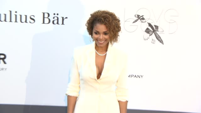 janet jackson at amfar 'cinema against aids' 2013 at hotel du capedenroc on may 23 2013 in cap d'antibes france - janet jackson stock videos & royalty-free footage