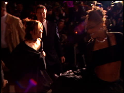 janet jackson at the 1999 academy awards vanity fair party at morton's in west hollywood, california on march 21, 1999. - 71st annual academy awards stock videos & royalty-free footage