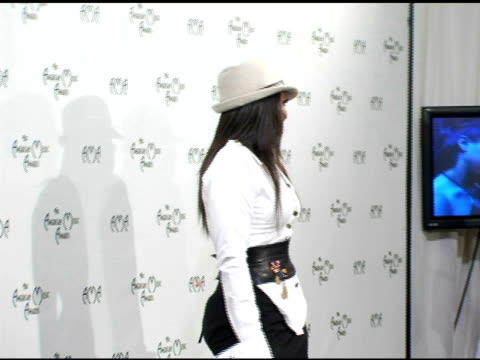 janet jackson at the 2004 american music awards press room at the shrine auditorium in los angeles california on november 14 2004 - janet jackson stock videos & royalty-free footage