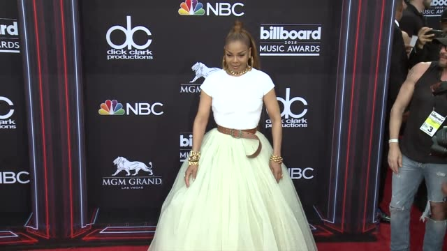 janet jackson at the 2018 billboard music awards arrivals on may 20 2018 in las vegas nevada - janet jackson stock videos & royalty-free footage