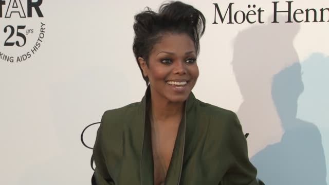 janet jackson at the amfar gala red carpet arrivals 64th cannes film festival at antibes - janet jackson stock videos & royalty-free footage
