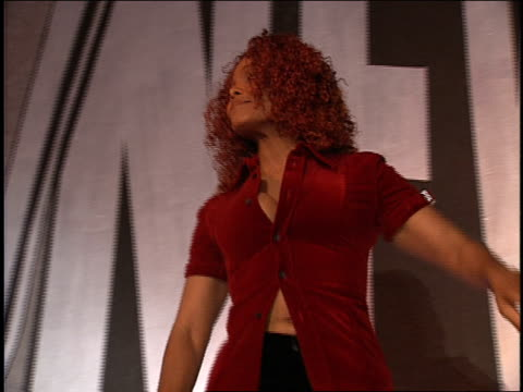 janet jackson on the 1997 mtv mtv video music awardss red carpet - janet jackson stock videos & royalty-free footage