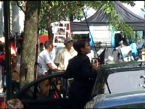 janet jackson on the set of 'for colored girls who have considered suicide when the rainbow is enuf' in new york at the celebrity sightings in new... - suicide girls stock videos & royalty-free footage
