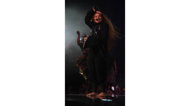 gif janet jackson performs at the mtv emas 2018 on november 4 2018 in bilbao spain - janet jackson stock videos & royalty-free footage