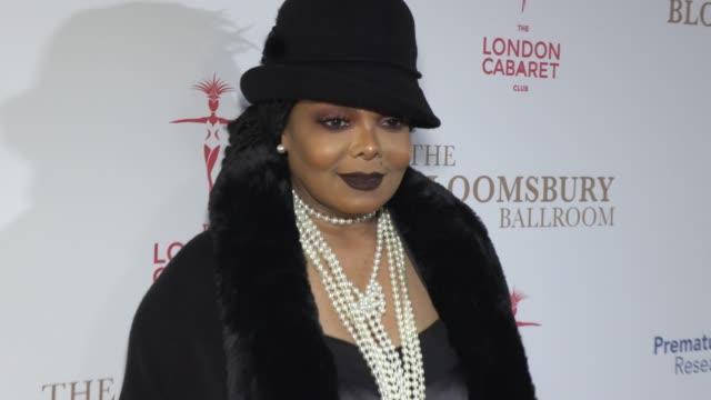 janet jackson prof tg teoh at bloomsbury ballroom on january 30 2020 in london england - gala stock videos & royalty-free footage