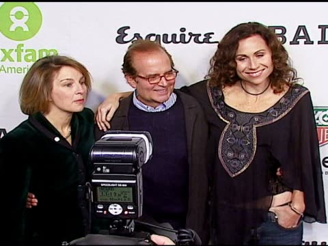 janet mckinley chair of oxfam stephen jacoby associate publisher of esquire and minnie driver at the oxfam annual fundraiser at esquire house 360 in... - minnie driver stock videos and b-roll footage