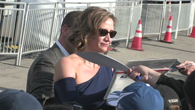 janet mcteer greets fans at 2012 film independent spirit awards in santa monica ca 02/25/12 - independent feature project stock videos & royalty-free footage