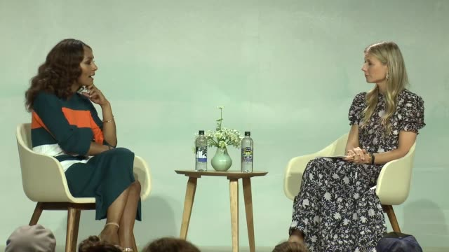 SPEECH Janet Mock Gwyneth Paltrow at the In goop Health Summit at 3LABS on June 09 2018 in Culver City California