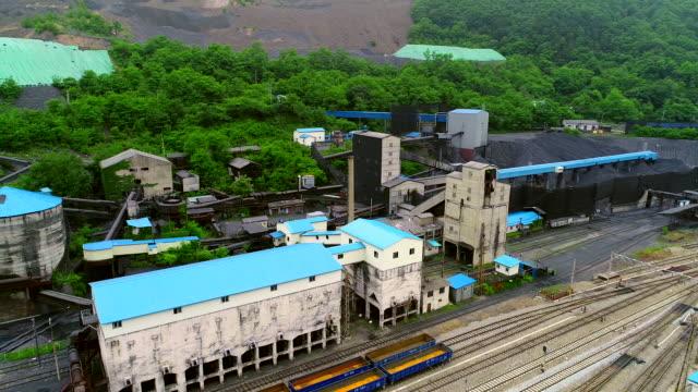 jangseong mining station of taebaek, gangwon province, south korea - anthracite coal stock videos & royalty-free footage