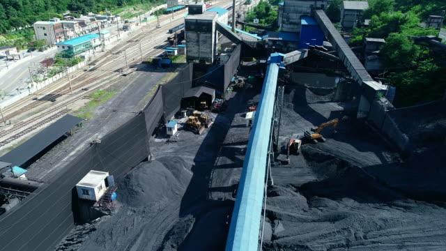 vídeos de stock, filmes e b-roll de jangseong mining station of taebaek, gangwon province, south korea - mineral