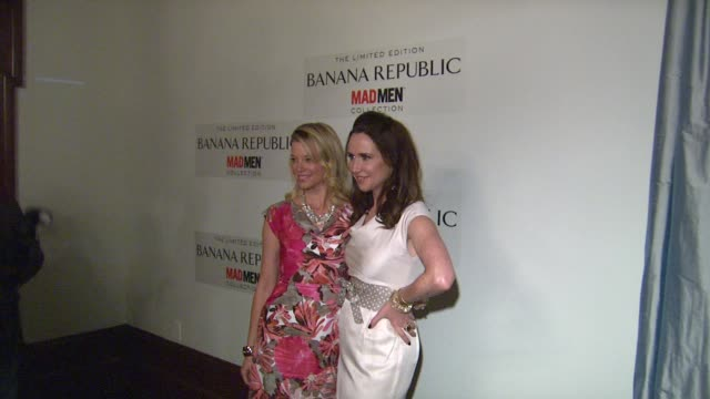 Janie Bryant Amy Smart at Spring Banana Republic Mad Men Collection Launch on 2/29/12 in Los Angeles CA