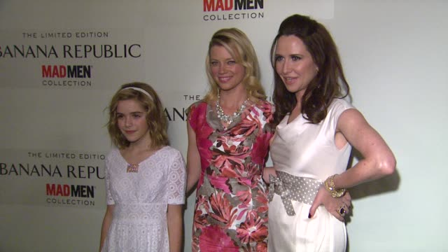 Janie Bryant Kiernan Shipka Amy Smart at Spring Banana Republic Mad Men Collection Launch on 2/29/12 in Los Angeles CA