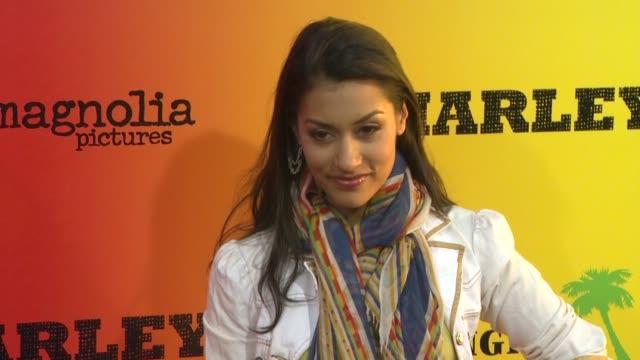 Janina Gavankar at Marley Los Angeles Premiere on 4/17/12 in Hollywood CA
