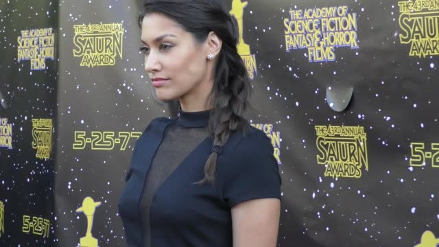 Janina Gavankar at the 43rd Annual Saturn Awards on June 28 2017 in Burbank California