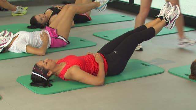 Janina Gavankar at the Muscle Milk Women's Fitness Retreat at Beverly Hills CA