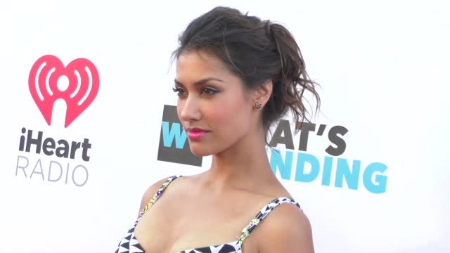 Janina Gavankar at the What's Trending's Fourth Annual Tubeathon Benefitting American Red Cross at iHeartRadio Theatre in Burbank at Celebrity...