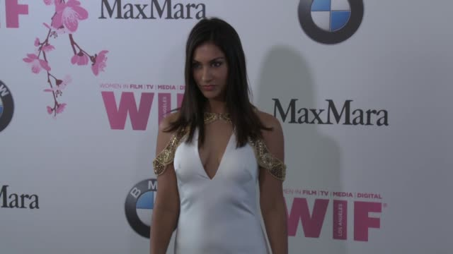 Janina Gavankar at the Women In Film 2017 Crystal Lucy Awards Presented By Max Mara And BMW at The Beverly Hilton Hotel on June 13 2017 in Beverly...