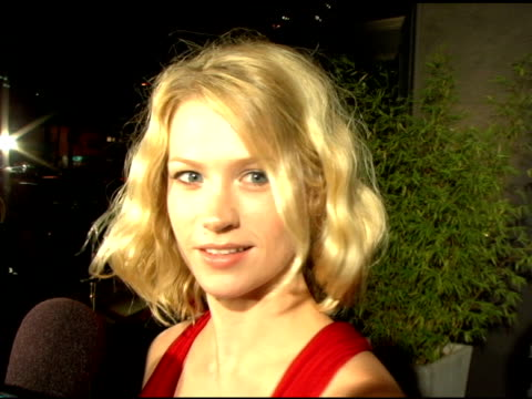 january jones at the an evening with tony duran arrivals at interior illusions in hollywood california on october 12 2006 - january jones stock videos & royalty-free footage