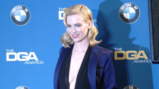 january jones at the hyatt regency century plaza on february 07 2015 in century city california - january jones stock videos & royalty-free footage