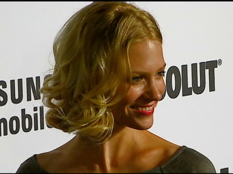 january jones at the jane magazine's 'go naked' party at private residence in beverly hills california on july 20 2006 - january jones stock videos & royalty-free footage