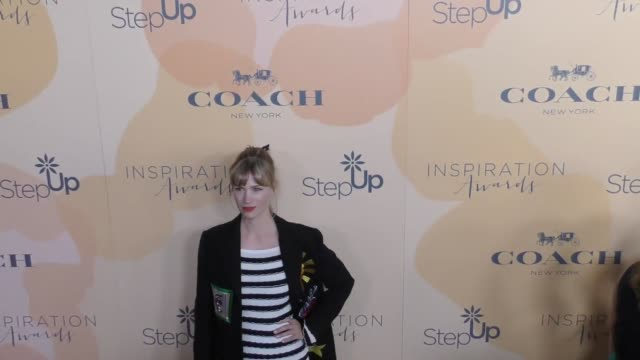january jones at the step up 14th annual inspiration awards at the beverly hilton hotel on june 02 2017 in beverly hills california - january jones stock videos & royalty-free footage
