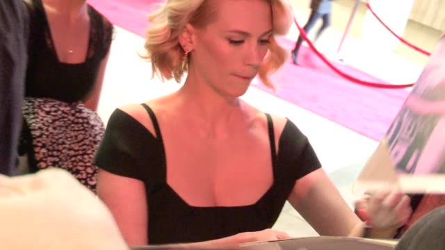 january jones greets fans at mad men season 5 premiere in hollywood 03/14/12 - january jones stock videos & royalty-free footage