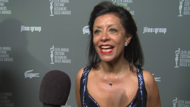 INTERVIEW Jany Temime on the event designing for Skyfall and working with Daniel Craig at The 15th Annual Costume Designers Guild Awards on 2/19/13...
