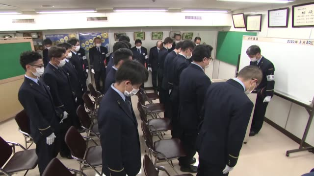 a moment of silence is observed at tokyo metro kasumigaseki station on march 20 the 25th anniversary of a sarin nerve gas attack by the aum shinrikyo... - 1995 stock videos & royalty-free footage