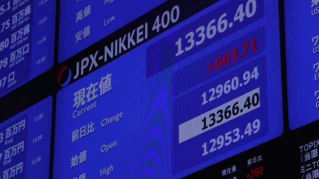 japan dives into its first recession since 2015, according to official data monday, with the world's third-largest economy contracting by 0.9 percent... - contracting stock videos & royalty-free footage