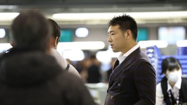 New Seattle Mariners pitcher Yusei Kikuchi departs from Osaka's Kansai International Airport on Feb 3 ahead of his first spring training in the major...