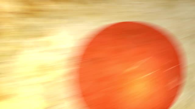 japan flagge-grunge.  hd - - ausgefranst stock-videos und b-roll-filmmaterial