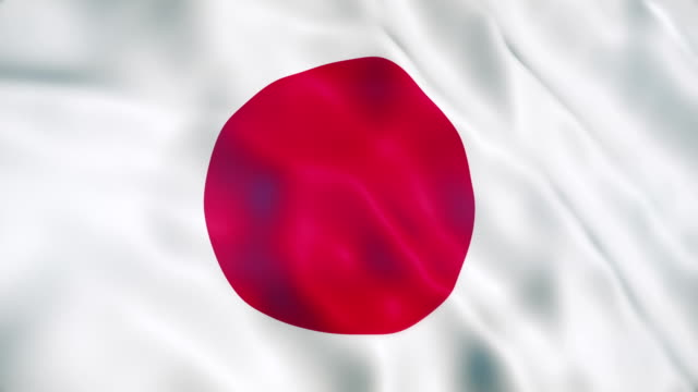 japan flag - japan flag stock videos & royalty-free footage