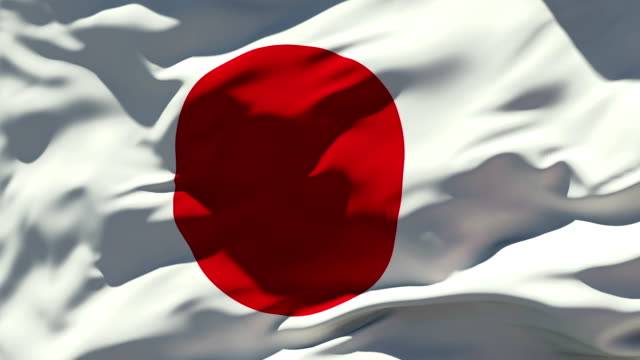 japan flag - national flag stock videos & royalty-free footage