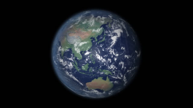地球上のフォーカス ズームを日本します。 - 空白点の映像素材/bロール