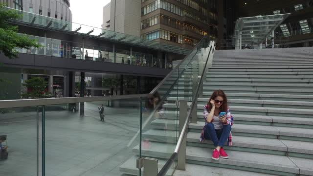 日本の旅 - 大阪駅点の映像素材/bロール