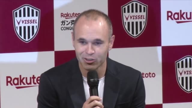 Barcelona legend Andres Iniesta said he wants to help grow the JLeague after signing for Vissel Kobe on Thursday The 34yearold a fourtime UEFA...