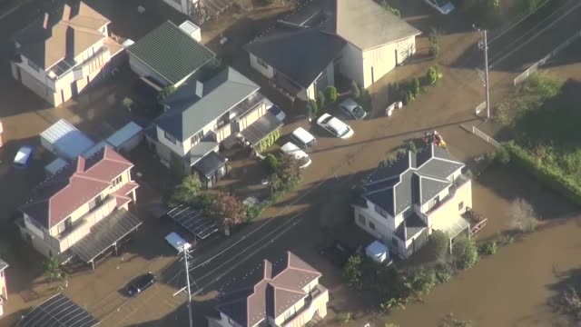 at least 19 people have died, and another 16 are missing as typhoon hagibis lashed japan, including the tokyo metropolitan area on saturday, with... - typhoon stock videos & royalty-free footage