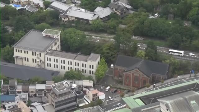 japan's first commercial hydroelectric power plant in kyoto was conferred the milestones award by a usbased organization for its contribution to... - energia idroelettrica video stock e b–roll