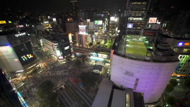 stockvideo's en b-roll-footage met japan shibuya kruising - shibuya shibuya station