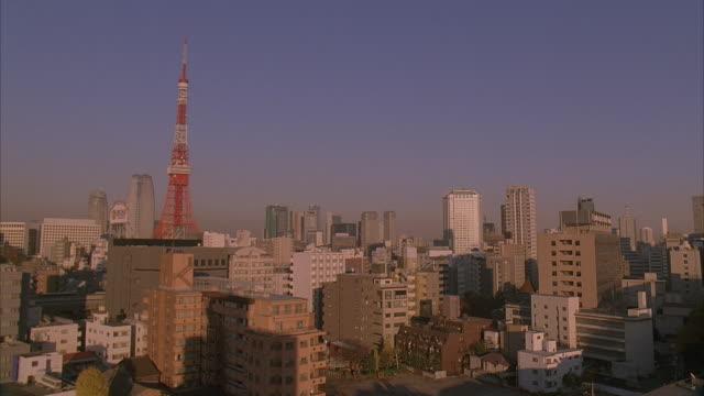ms, japan, tokyo, cityscape - 2005年点の映像素材/bロール