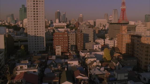 ms, td, ha, tu, japan, tokyo, cityscape - 2005年点の映像素材/bロール