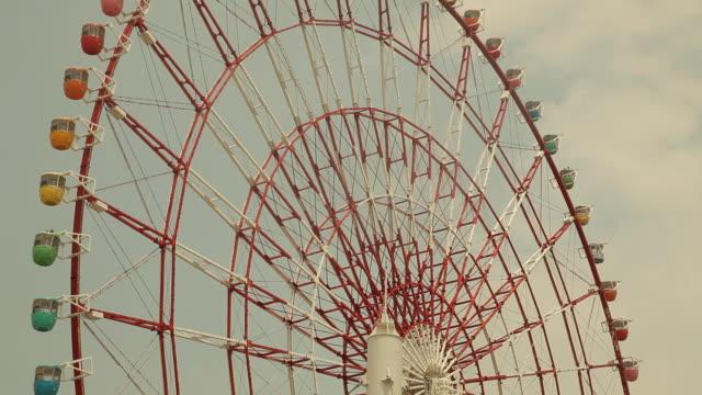 japan, tokyo, odaiba - big wheel stock videos & royalty-free footage