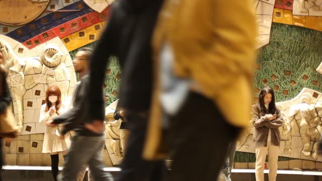 japan, tokyo, shibuya - surgical mask stock videos & royalty-free footage