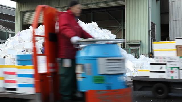japan, tokyo - polystyrene stock videos & royalty-free footage