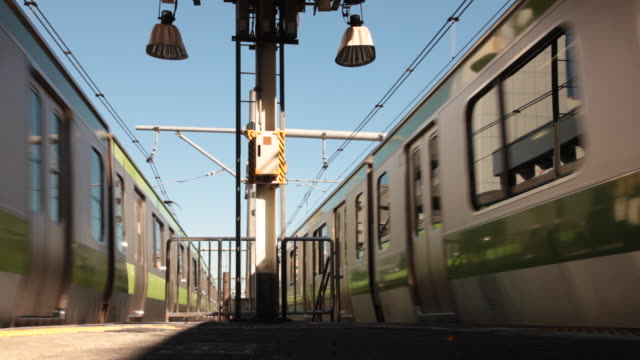 japan, tokyo - train guard stock videos & royalty-free footage
