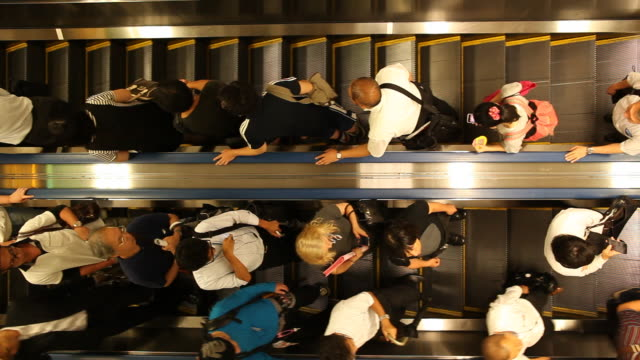 japan, tokyo - escalator stock videos & royalty-free footage