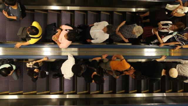 japan, tokyo - escalator stock videos & royalty-free footage