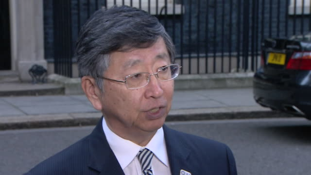 Japanese ambassador to the UK Koji Tsuruoka saying if there is 'no profitability' in Japanese companies operating in the UK after Brexit then they...