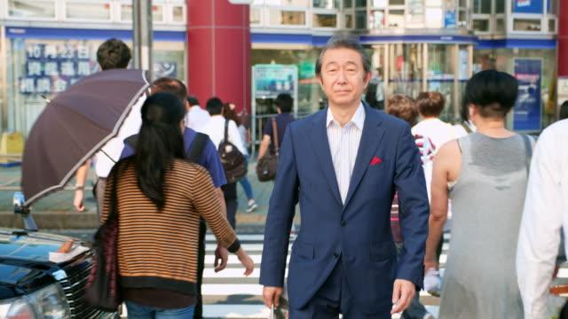 日本のビジネスマン - ビジネスマン点の映像素材/bロール